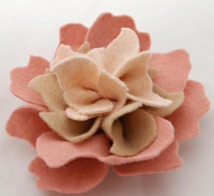 Felt flowers balsam 5