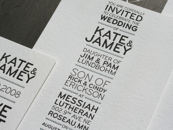 Studio on fire_wedding invitation